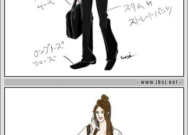 金榜设计教育服装手绘图欣赏(二)