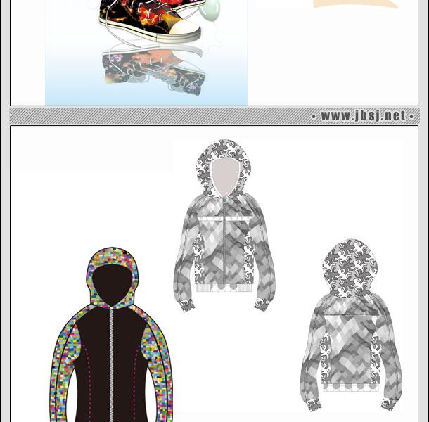 服装设计班一年制二期学生cdr作品(一)
